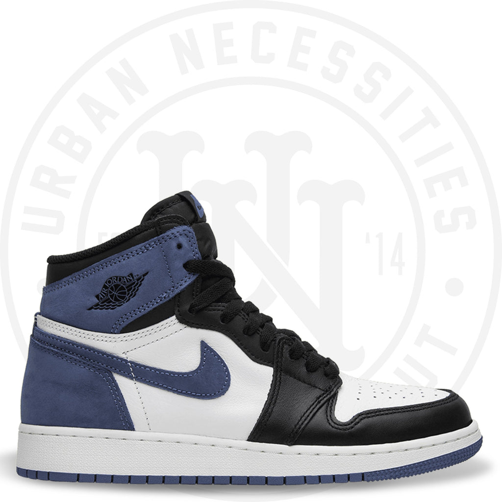 Air Jordan 1 Retro High OG BG 'Blue Moon' - 575441 115-Urban Necessities