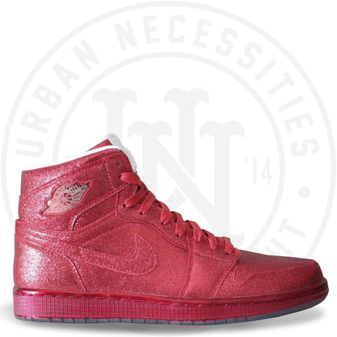 Air Jordan 1 Retro 'Legends of Summer' Red Glitter-Urban Necessities