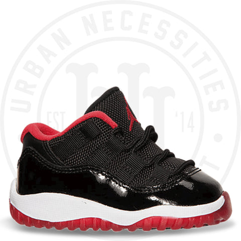 Air Jordan 11 Retro Low BT TD 'Bred' - 505836 012-Urban Necessities