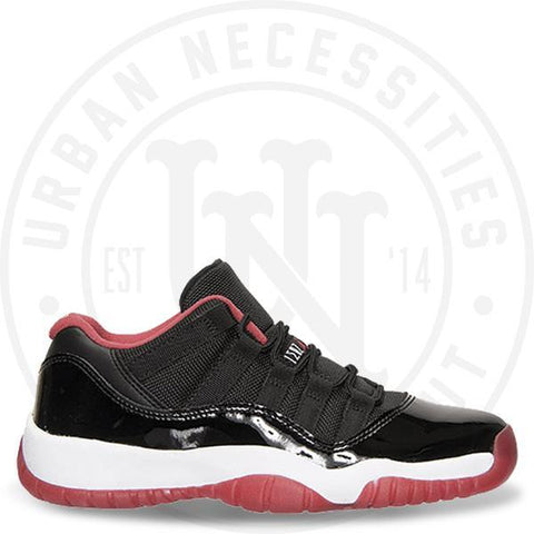 Air Jordan 11 Retro Low GS 'Bred' - 528896 012-Urban Necessities