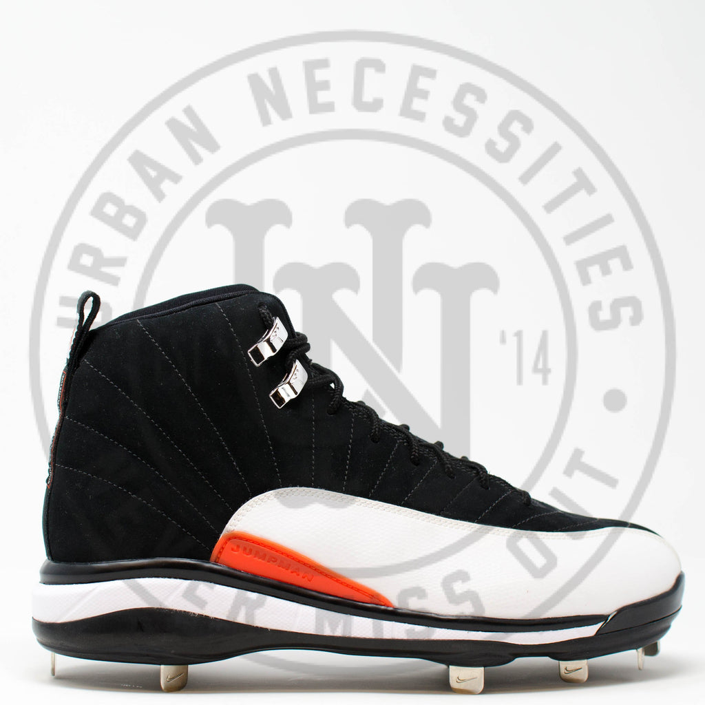 Air Jordan 12 Cleat PE Sample 'Adam Jones' - SU12-MNJDLS-956-Urban Necessities