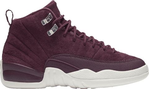Air Jordan 12 Retro GS 'Bordeaux' - 153265 617-Urban Necessities