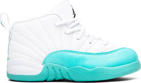 Air Jordan 12 Retro TD 'Light Aqua' - 819666 100-Urban Necessities