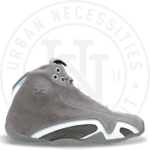 Air Jordan 21 Lt. Graphite Uni Blue 313495 002-Urban Necessities