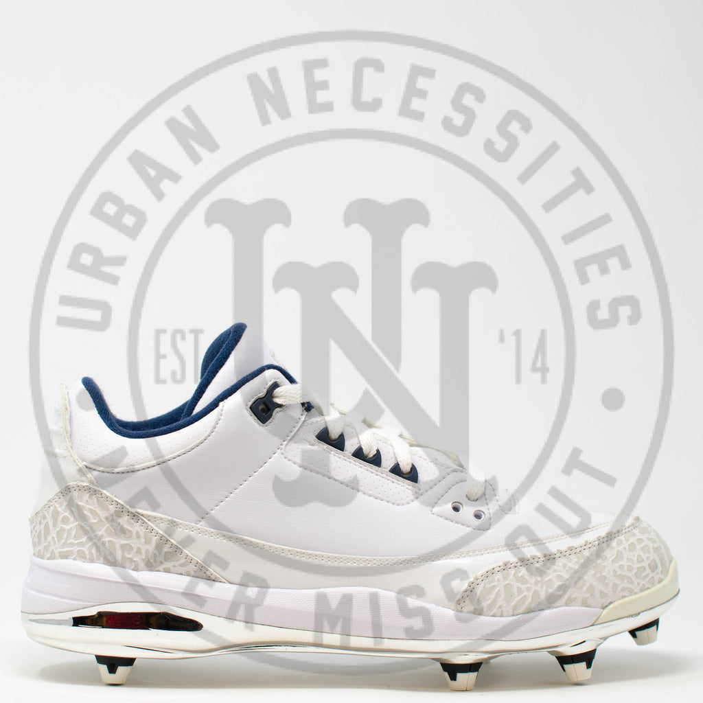 Air Jordan 3 Cleat PE Detachable 'Dre Bly' - 324822-104558-Urban Necessities