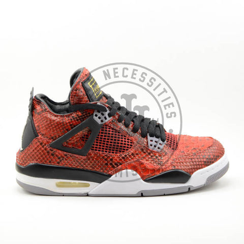 Air Jordan 4 Toro Custom Python-Urban Necessities