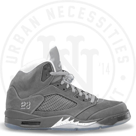 Air Jordan 5 Retro 'Wolf Grey' - 136027 005-Urban Necessities