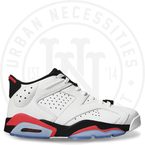 Air Jordan 6 Low 'Infrared'- 304401 123-Urban Necessities