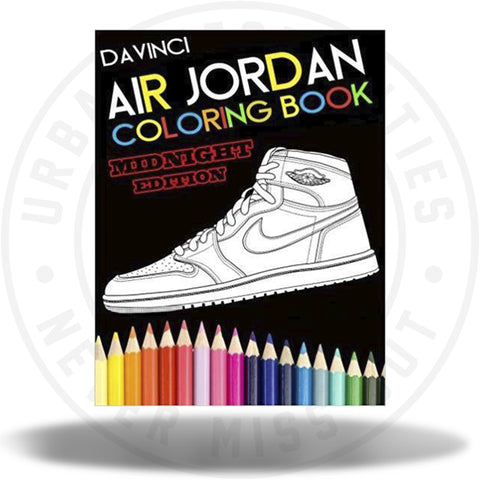 Air Jordan Coloring Book: Midnight Edition-Urban Necessities