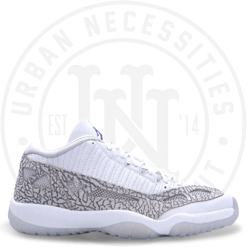 Air Jordan Retro 11 Low IE 'Cobalt' 2015 - 306008 102-Urban Necessities