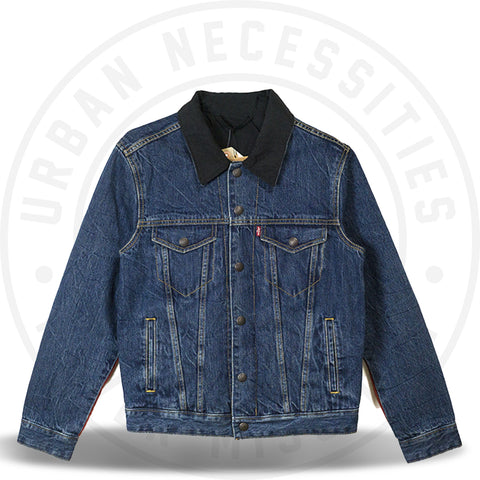 Air Jordan x Levis Reversible Trucker Jacket Indigo-Urban Necessities