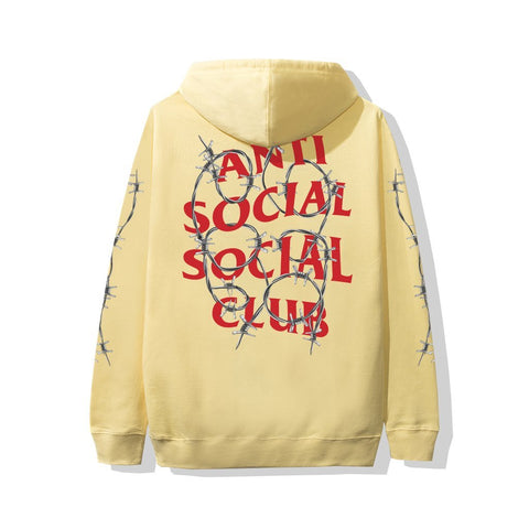Anti Social Social Club ASSC Barbara Yellow Hoodie-Urban Necessities