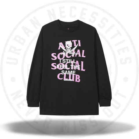 Anti Social Social Club ASSC Black Jack Black Long Sleeve Tee-Urban Necessities