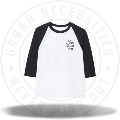 Anti Social Social Club ASSC Boring Game Black/White Tee-Urban Necessities