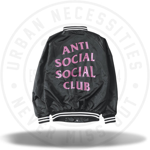 Anti Social Social Club ASSC July 15th Satin Baseball Jacket-Urban Necessities