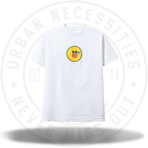 Anti Social Social Club ASSC LINE FRIENDS | ASSC SALLY WHITE TEE-Urban Necessities