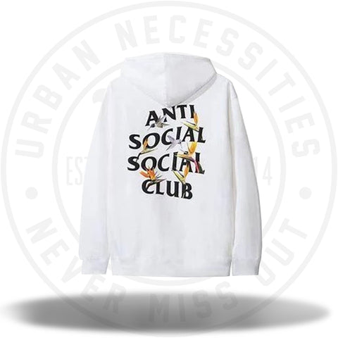 Anti Social Social Club ASSC Pair of Dice Hoodie White-Urban Necessities