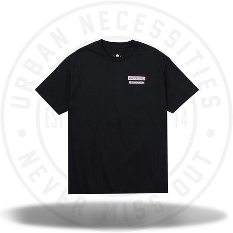 Anti Social Social Club ASSC Stuck On You Black Tee-Urban Necessities