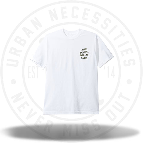 Anti Social Social Club ASSC Woody White Tee-Urban Necessities