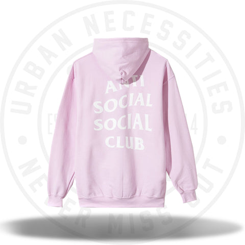 Anti Social Social Club Know You Better Hoodie Pink-Urban Necessities