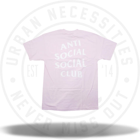 Anti Social Social Club Logo Tee 2 Pink-Urban Necessities