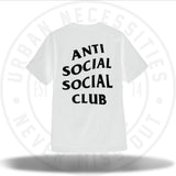 Anti Social Social Club Logo Tee Two White-Urban Necessities