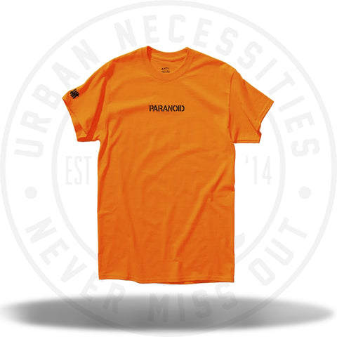 Anti Social Social Club Paranoid x UNDFTD Tee Orange-Urban Necessities