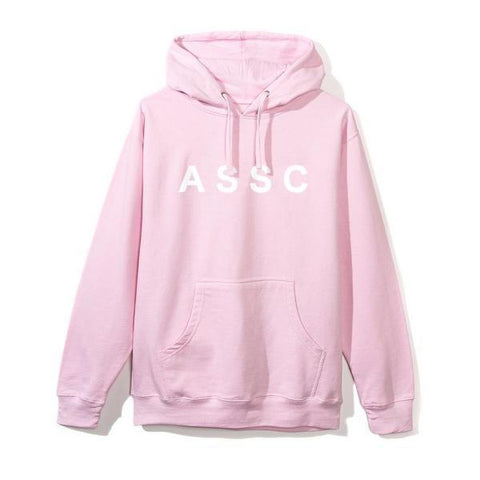 Anti Social Social Club Peach Love Hoodie Pink-Urban Necessities