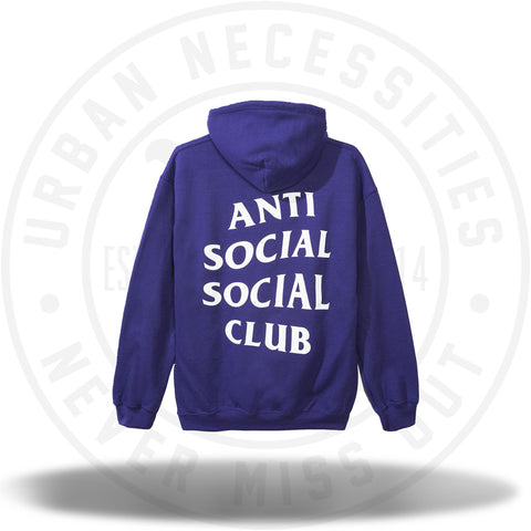 Anti Social Social Club Purple/Gold Hoodie-Urban Necessities