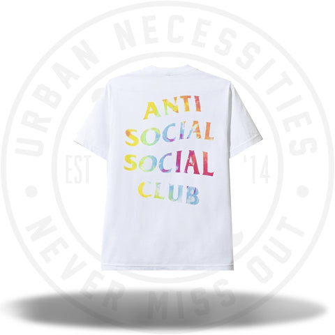 Anti Social Social Club Thai Dye White Tee-Urban Necessities