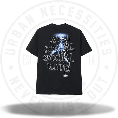 Anti Social Social Club Twister Black Tee-Urban Necessities