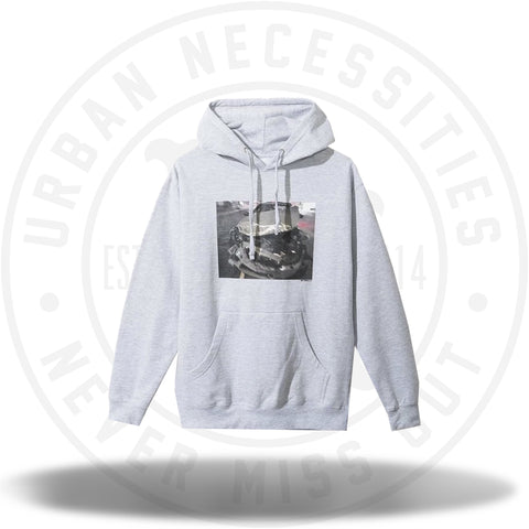 Anti Social Social Club Wrecked BMW Gray Hoodie-Urban Necessities