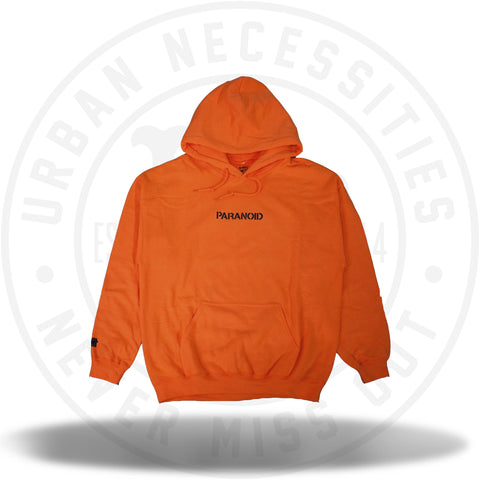 Anti Social Social Club x Undefeated Paranoid Hoodie Orange-Urban Necessities