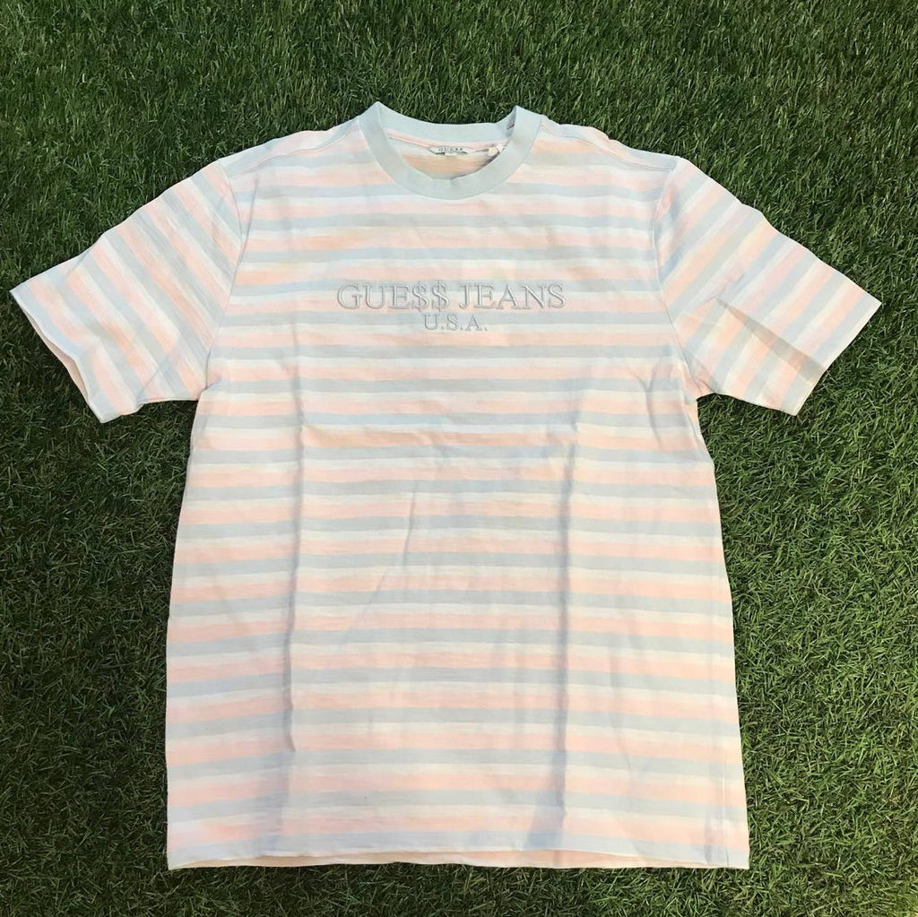 ASAP Guess David 3 Stripe Pink and Baby Blue-Urban Necessities