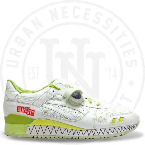 Asics Alife x Gel Lyte 3 'White Kryptonite'-Urban Necessities