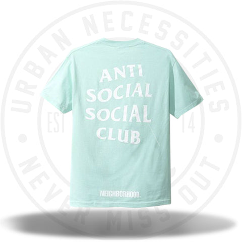ASSC Anti Social Social Club 911 Teal Tee-Urban Necessities