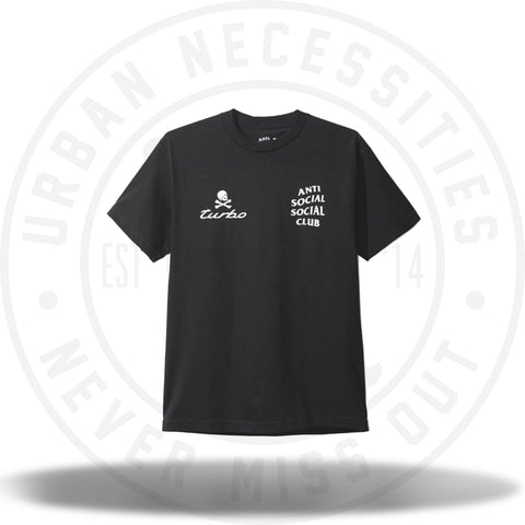 ASSC Anti Social Social Club 911 Turbo Black Shirt-Urban Necessities