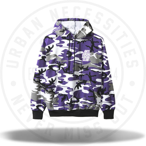ASSC Anti Social Social Club Blocked Purp Hoodie-Urban Necessities