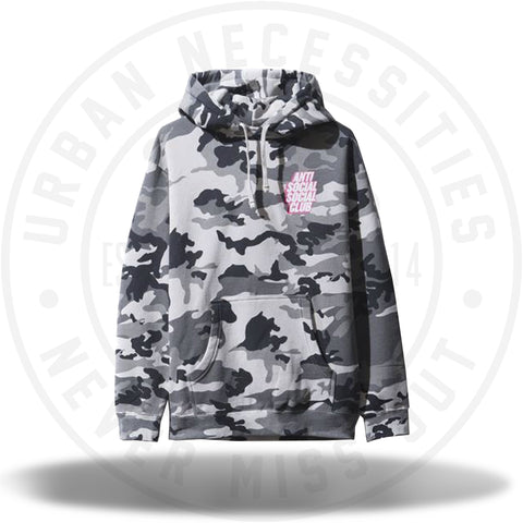 ASSC Anti Social Social Club Blocked Siberia Camo Hoodie-Urban Necessities