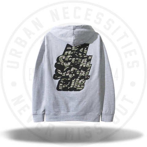 ASSC Anti Social Social Club Blocked Tiger Camo Grey hoodie-Urban Necessities