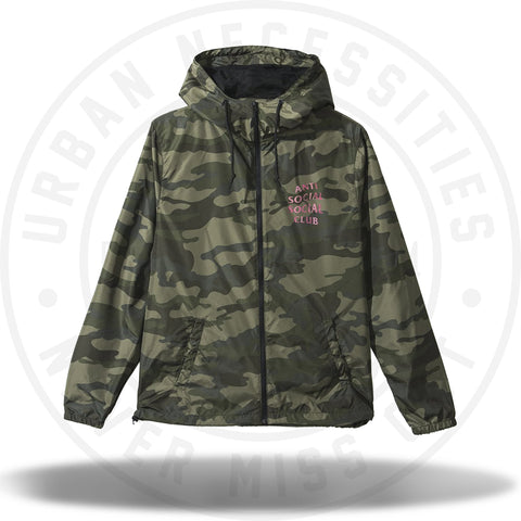 ASSC Anti Social Social Club Break Me Windbreaker Camo-Urban Necessities