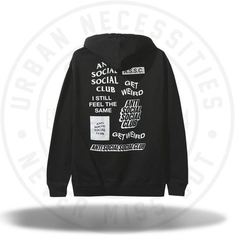ASSC Anti Social Social Club Bukake Black Hoodie-Urban Necessities