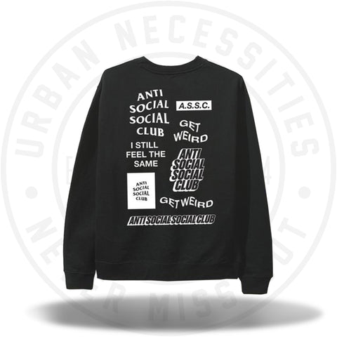ASSC Anti Social Social Club Bukake Black Long Sleeve Tee-Urban Necessities
