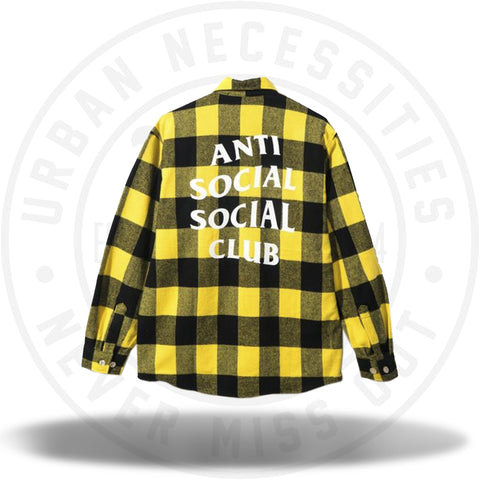 ASSC Anti Social Social Club Canal St. Flannel-Urban Necessities