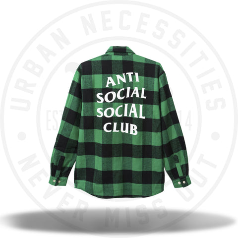 ASSC Anti Social Social Club Frog Flannel-Urban Necessities