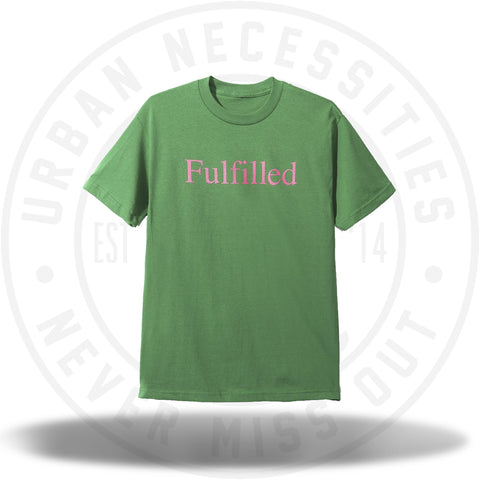 ASSC Anti Social Social Club Fulfilled Green Tee-Urban Necessities