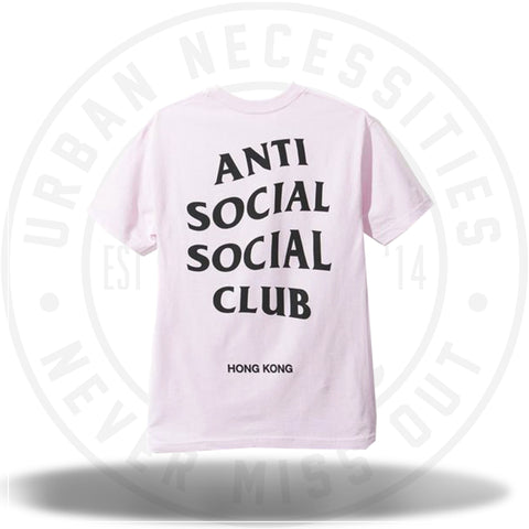 ASSC Anti Social Social Club Hong Kong Pink Tee-Urban Necessities