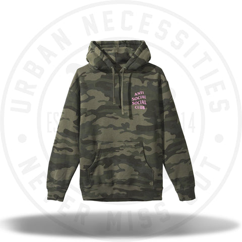 ASSC Anti Social Social Club Hoodie Break Me camo-Urban Necessities
