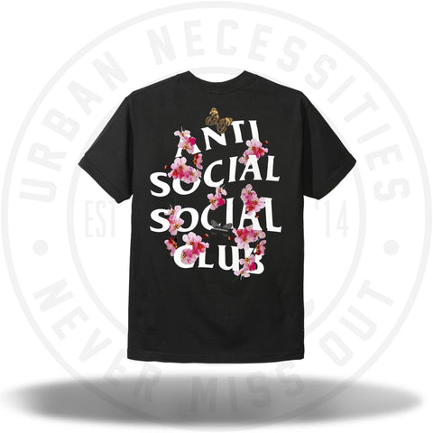 ASSC Anti Social Social Club Kkoch Black Tee-Urban Necessities
