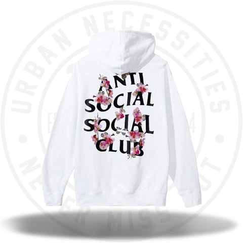 ASSC Anti Social Social Club Kkoch Hoodie White-Urban Necessities